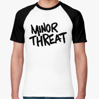 Футболка реглан  Minor Threat