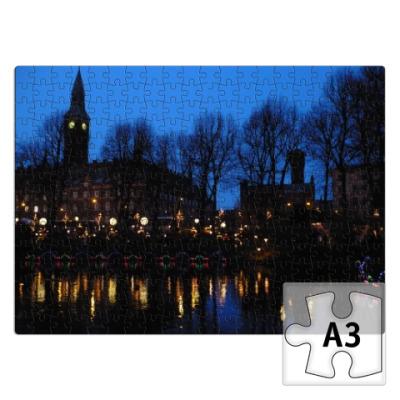 Пазл Вечерний Копенгаген
