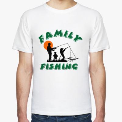 Футболка Семейная рыбалка
