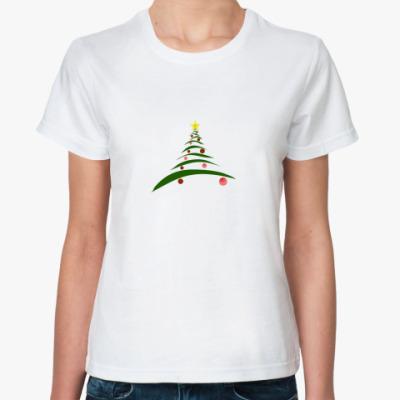 Классическая футболка  Елка