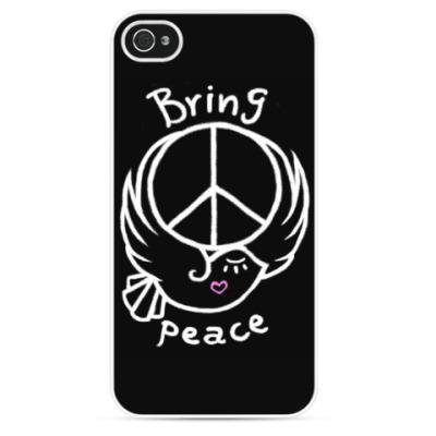 Чехол для iPhone Приносите мир