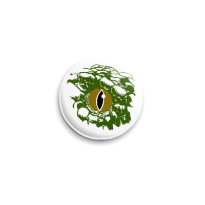 Значок 25мм Глаз змеи