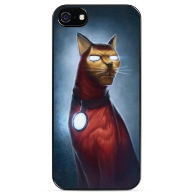 Чехол для iPhone Iron Cat