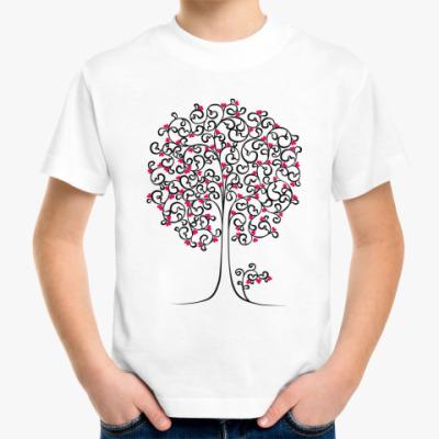 Детская футболка Heart Tree