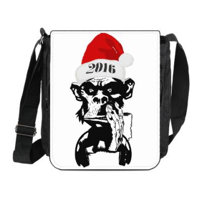 Сумка на плечо (мини-планшет) DJ Monkey 2016 New Year