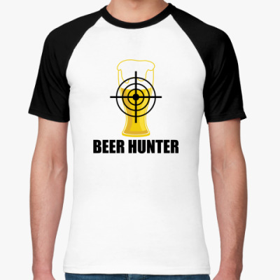 Футболка реглан Beer Hunter