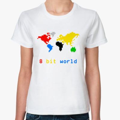 Классическая футболка 8 bit world
