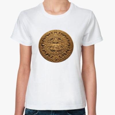 Классическая футболка  `Солнце ацтеков`