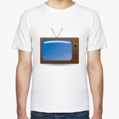 Футболка телевизор