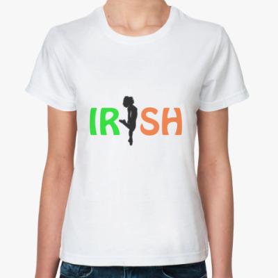 Классическая футболка  фут. Шемрок Irish