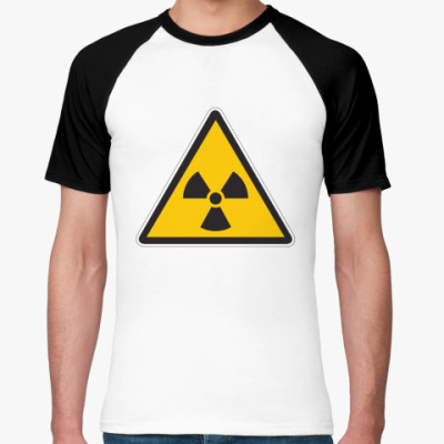 Футболка реглан Радиация