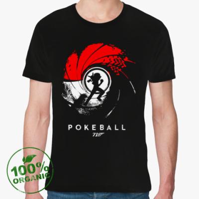 Футболка из органик-хлопка Pokeball 007