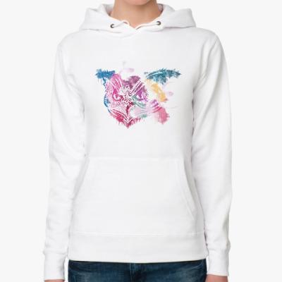 Женская толстовка худи Сова - Owl