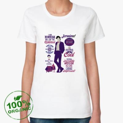 Женская футболка из органик-хлопка Doctor Who 11