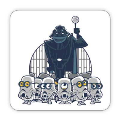 Костер (подставка под кружку) Darth Vader & Minions