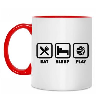 Кружка Eat Sleep Play