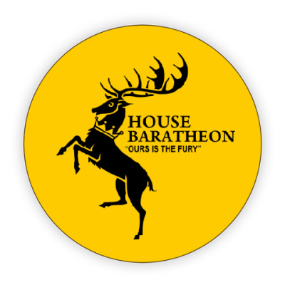 Костер (подставка под кружку) House Baratheon