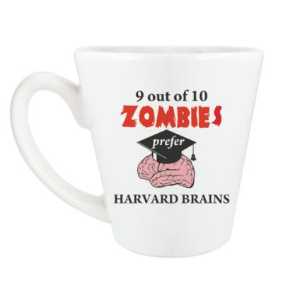 Чашка Латте Harvard brains