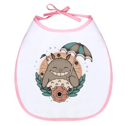 Слюнявчик Smile Totoro