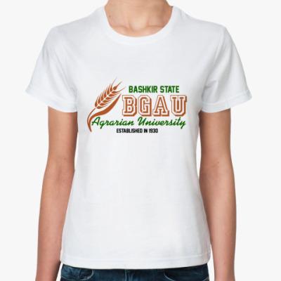 Классическая футболка БГАУ