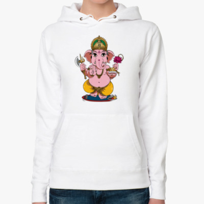 Женская толстовка худи Ganesha