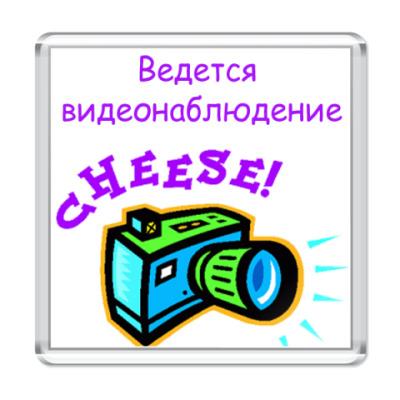 Магнит Видется видеонаблюдение