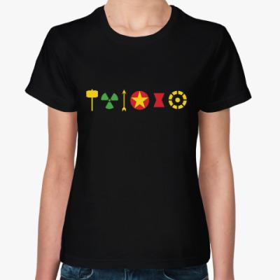 Женская футболка Мстители