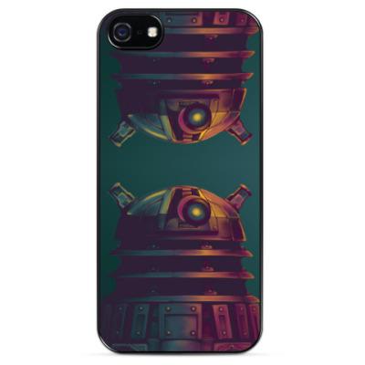 Чехол для iPhone Доктор Кто. Далек