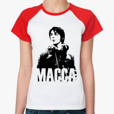 Женская футболка реглан Paul Macca
