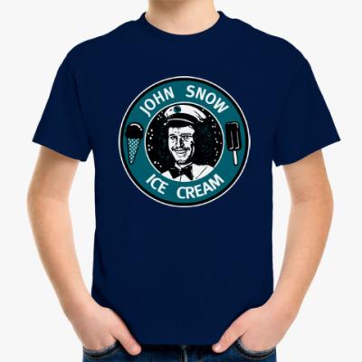 Детская футболка Джон Сноу - Мороженое
