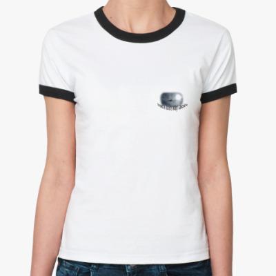 Женская футболка Ringer-T Самолёт
