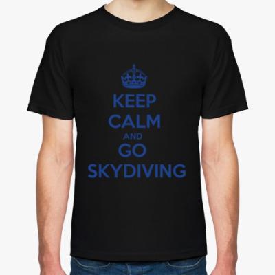 Футболка skydiving прыжки парашют скайдайвинг