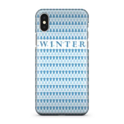 Чехол для iPhone X Winter