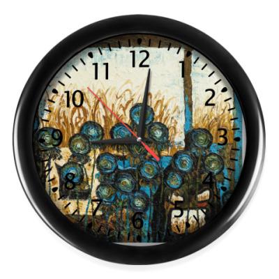 Настенные часы 'Невидимое'