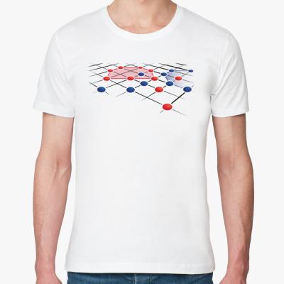 Футболка из органик-хлопка Геометрия интеллекта
