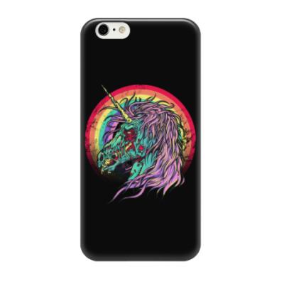 Чехол для iPhone 6/6s Зомби единорог