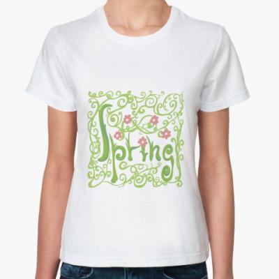 Классическая футболка Spring