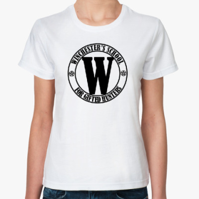 Классическая футболка Winchester's School