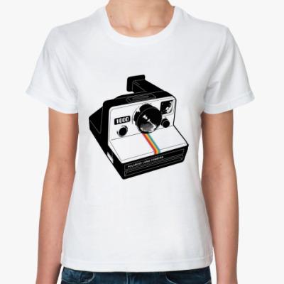 Классическая футболка полароид