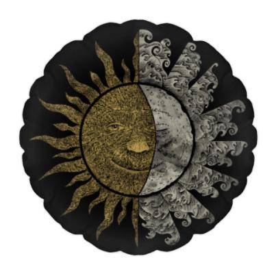 Подушка Солнце и Луна