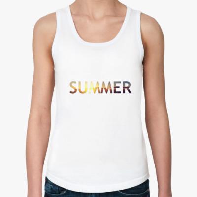 Женская майка Summer
