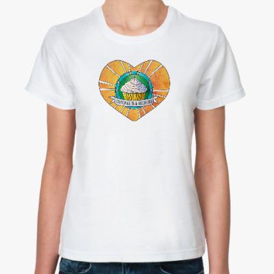 Классическая футболка Капкейки - это религия