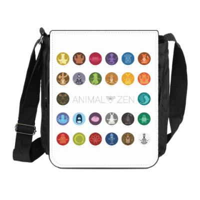 Сумка на плечо (мини-планшет)  A to Z: Animal Zen