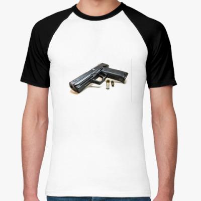 Футболка реглан Пистолет
