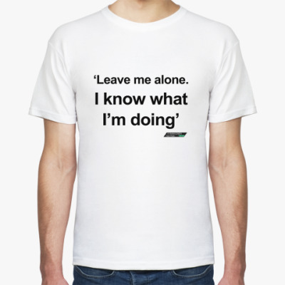 Футболка Kimi 'Leave me alone...'