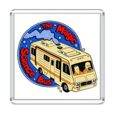 Магнит Волшебный автобус