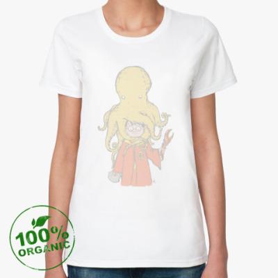 Женская футболка из органик-хлопка Harry Potter дары моря