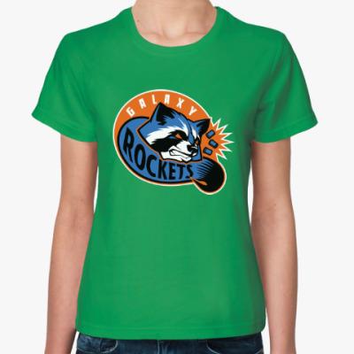 Женская футболка Galaxy Rockets