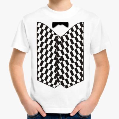 Детская футболка Жилет м.6