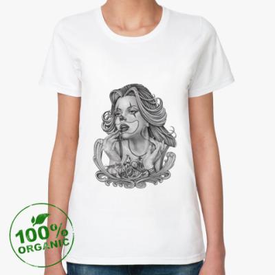 Женская футболка из органик-хлопка Chicano Girl